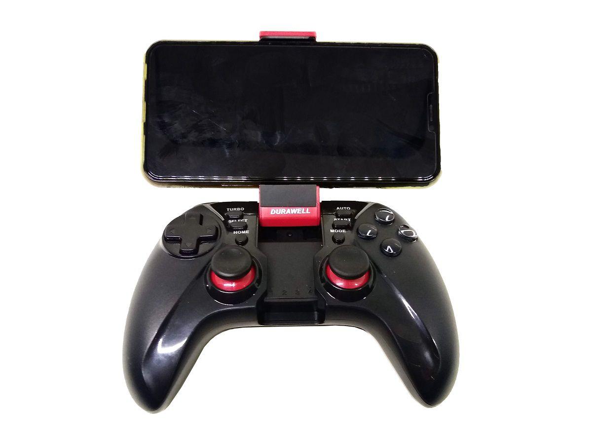 Controle Joystick Para Celular IOS E Android Sem Fio Original Bluetooth USB Durawell - DW-9068