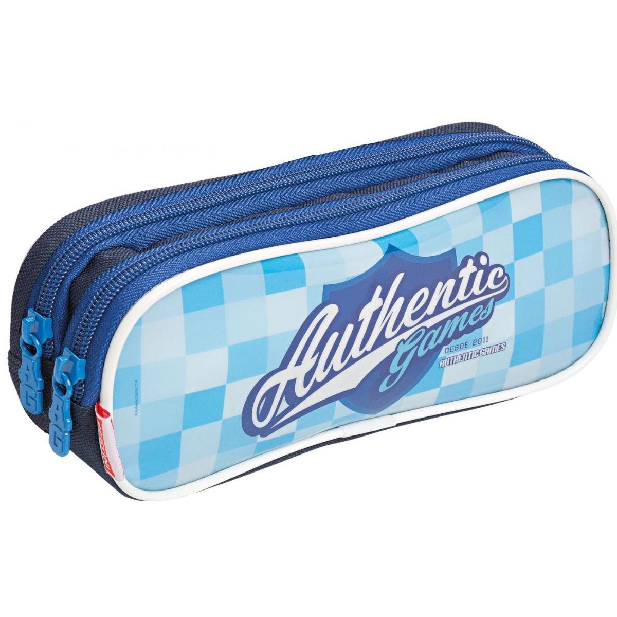 Estojo Escolar Infantil Authentic Games Azul 20Y Sestini - 065568-00