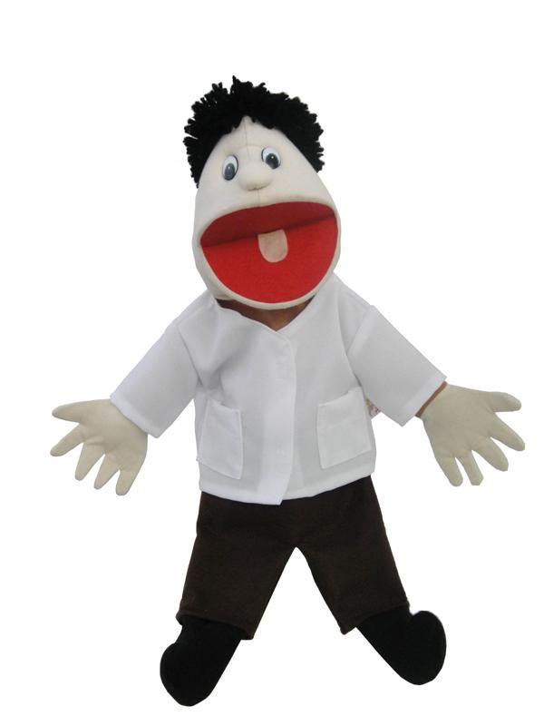 Fantoche Agente de Saúde - Tipo Boneca 1 peça - Jodane 7002