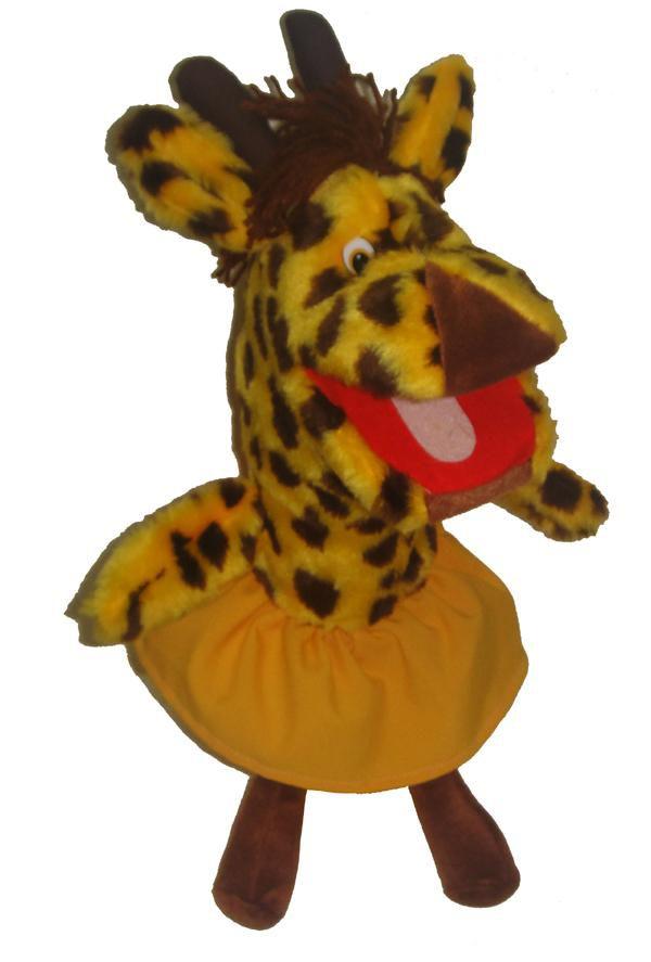 Fantoche Girafa - 1 Peça - Jodane 7029