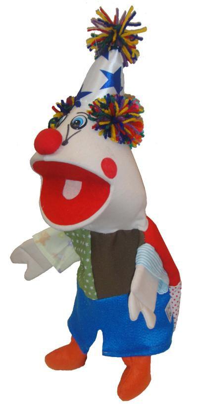 Fantoche Palhaço - 1 Peça - Jodane 7062