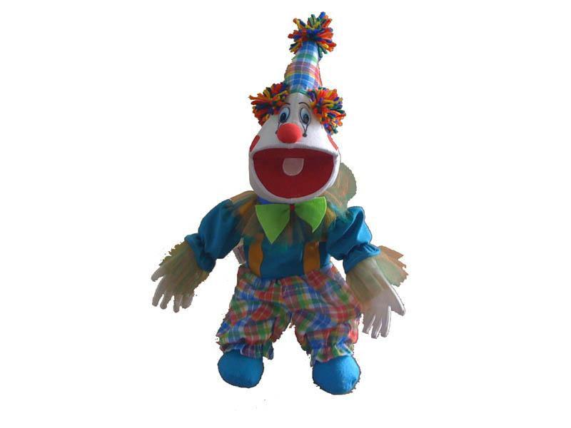 Fantoche Palhaço (Tipo Boneca) - 1 Peça - Jodane 7063