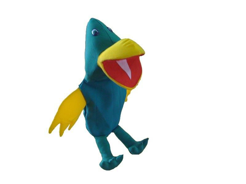 Fantoche Papagaio - 1 Peça - Jodane 7064