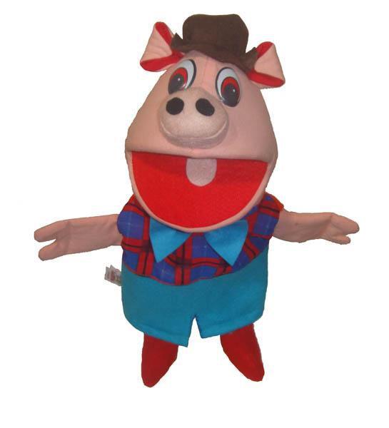 Fantoche Porco - 1 Peça - Jodane 7070