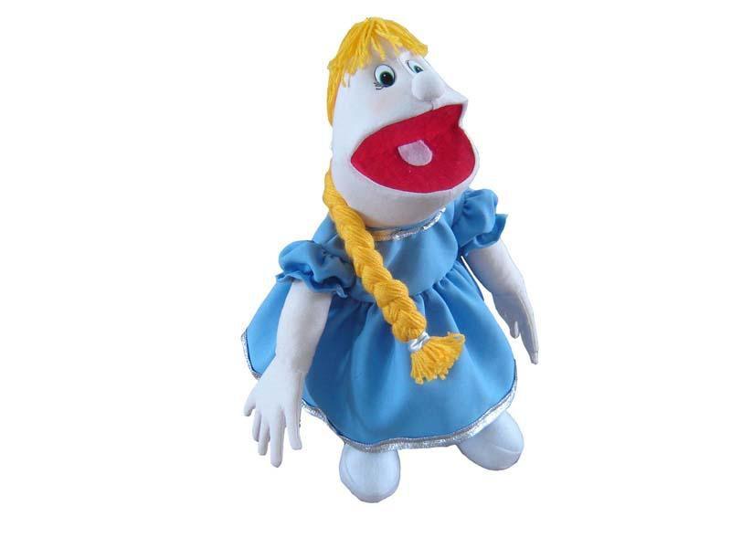Fantoche Rapunzel (Tipo Boneca) - 1 Peça - Jodane 7075