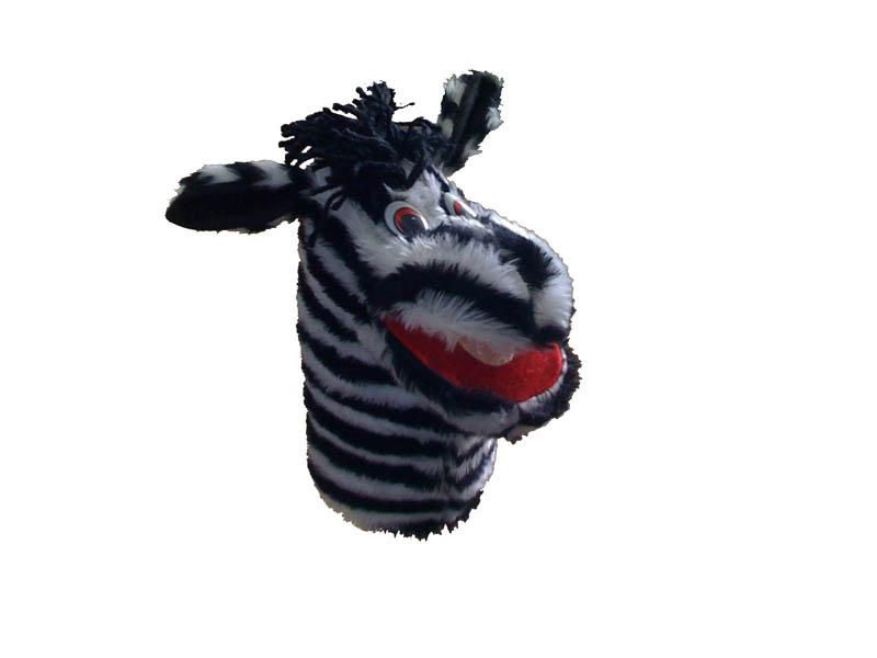 Fantoche Zebra (Velboa) - 1 Peça - Jodane 7094