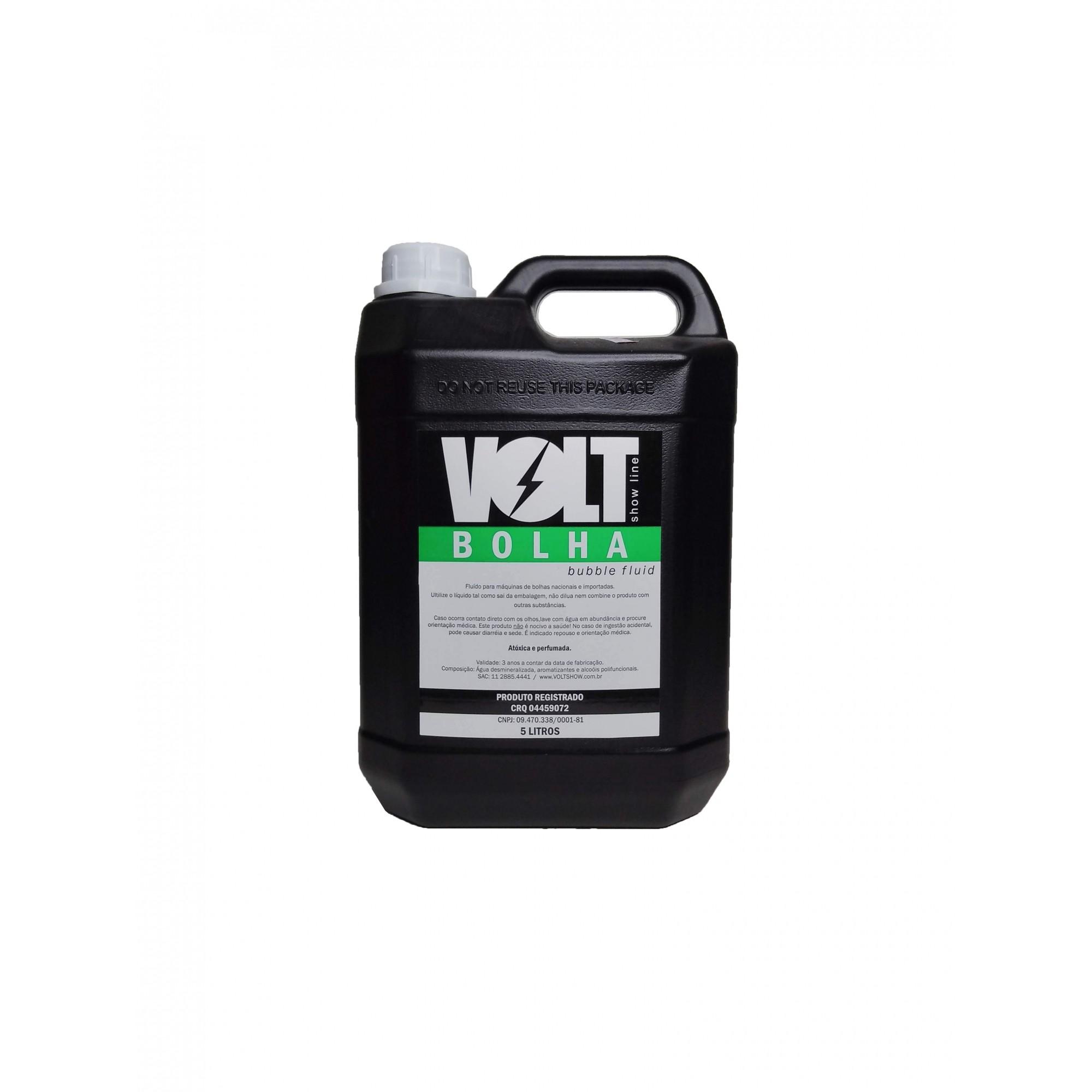 Fluído Líquido Para Máquina De Bolhas Galão 5 Litros - MY9001