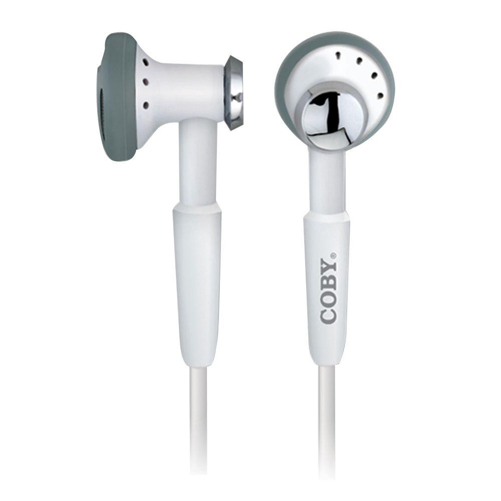 Fone De Ouvido Intra-Auricular Com Conector Estéreo De 2,5mm MARCA COBY - CVE972