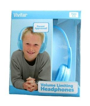 Fone De Ouvido Infantil Vivitar Original Com Limitador De Volume - V12009