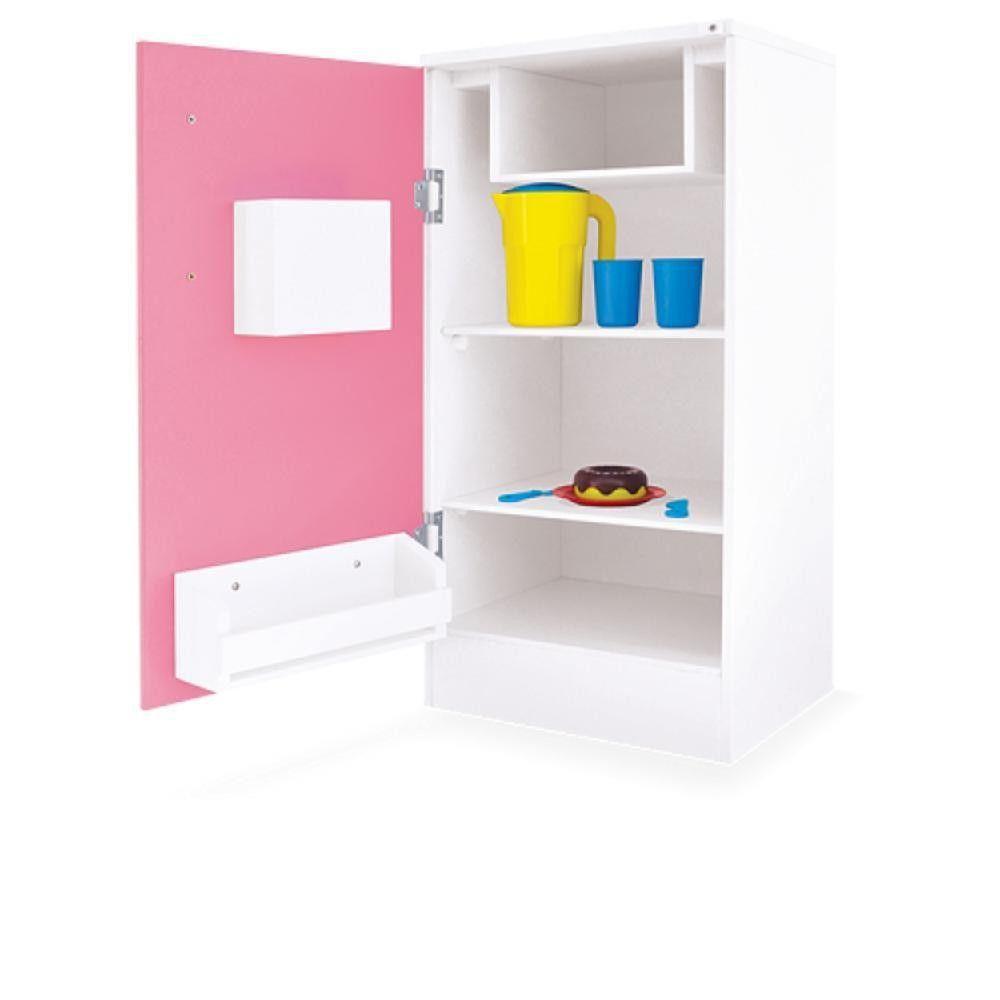 Geladeira de Brinquedo Super Lux Rosa Junges - 422