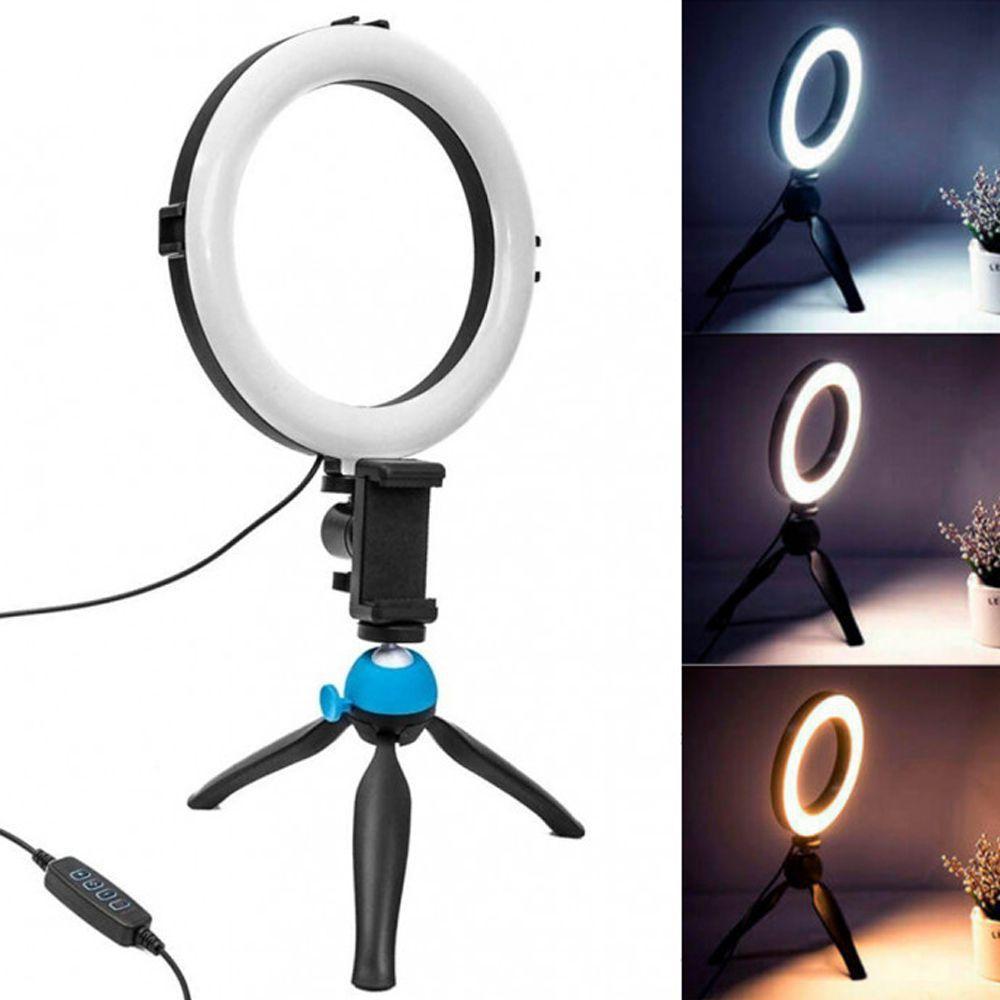 Iluminador Ring Light 6 Polegadas Led 16cm 6 Watts - BJ-16D