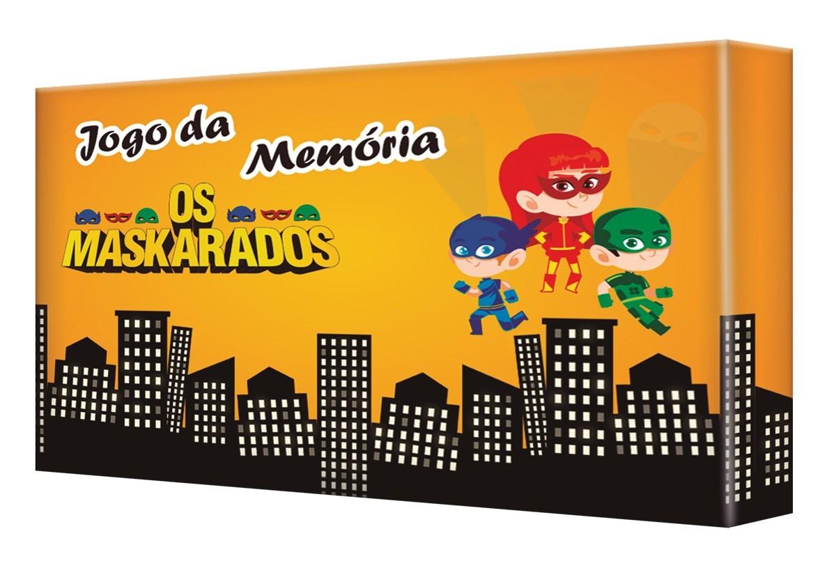 Jogo Da Memória Os Maskarados 30 Peças - 8970