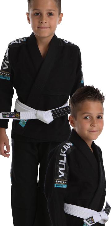 Kimono Vulkan Infantil Para Jiu Jitsu - VKN PRO PRETO INFANTIL MASCULINO