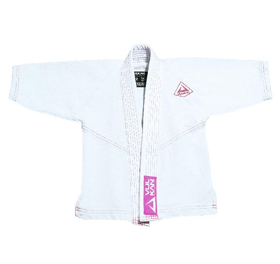 Kimono Vulkan Para Jiu-jitsu Baby Baby Class Feminino Branco
