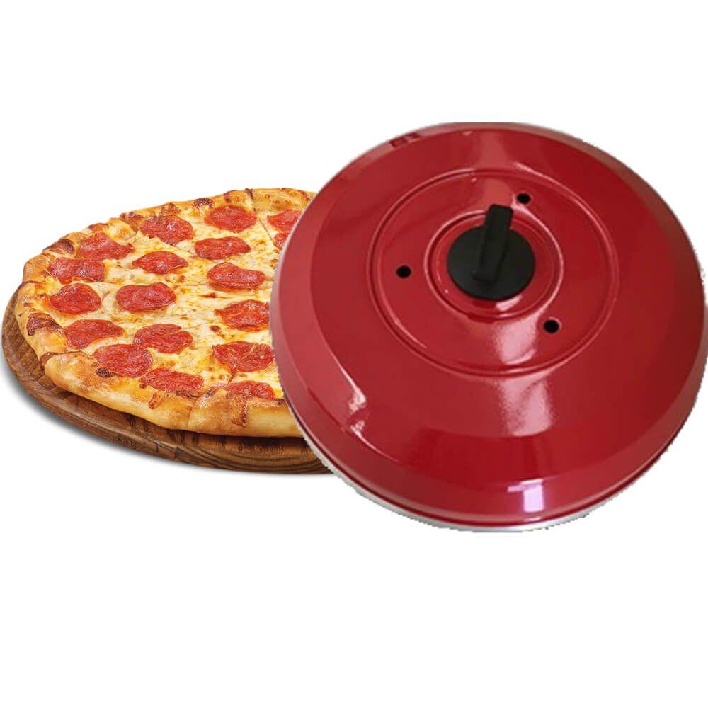 Kit 2 Abafador de Pizza em Alúminio Grande 40cm