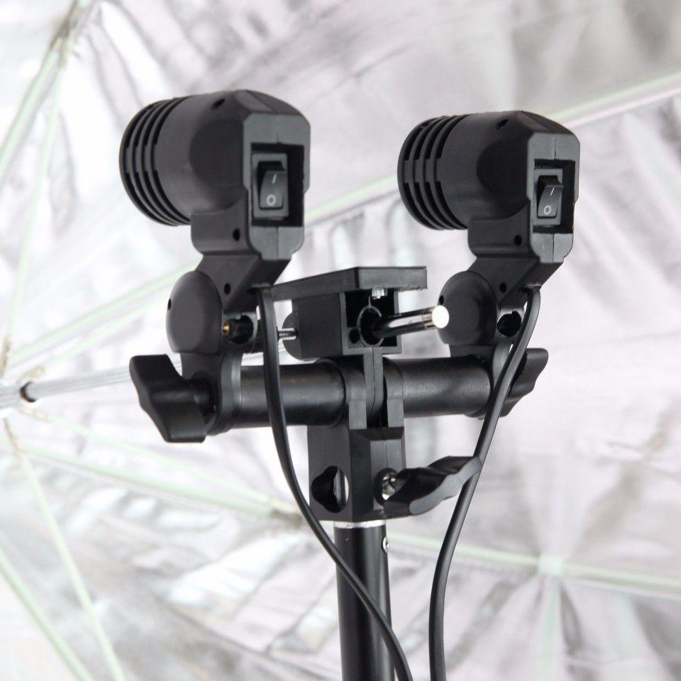 Kit Para Estúdio Fotográfico E Youtuber - Softbox 60x90 + Soquete Duplo Tipo E27 + Tripé 2 Metros st803