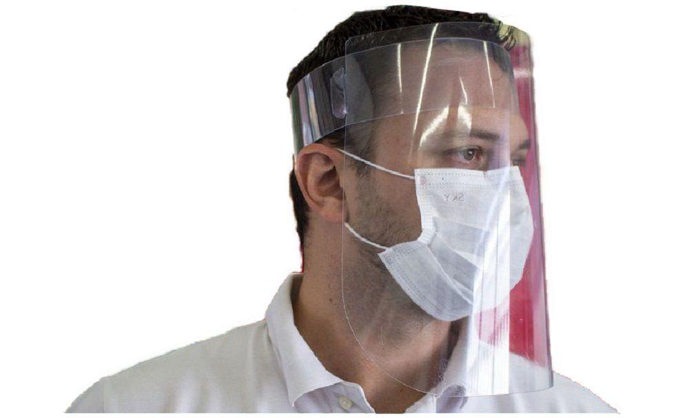 Kit 4x Mascaras Proteção Facial Faceshield