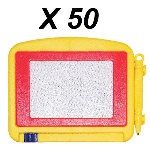 Kit 50 lousinhas Mágicas Infantil Com Caneta Pequena TK-288