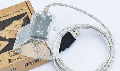 Kit 50x Leitoras E Gravador De Cartões Smartcard - Gemalto