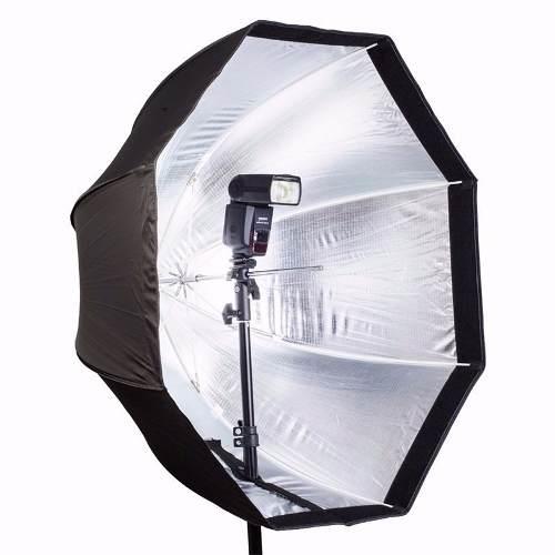 Kit 6x Softbox Octabox 80cm Universal Tipo Sombrinha Para Flash Tocha - SB1010-80