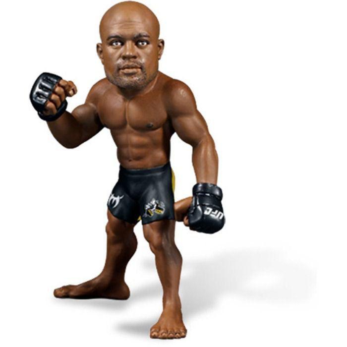 Kit Bonecos UFC Anderson Silva + Minotauro + Cigano + Shogun + Lyoto + Aldo