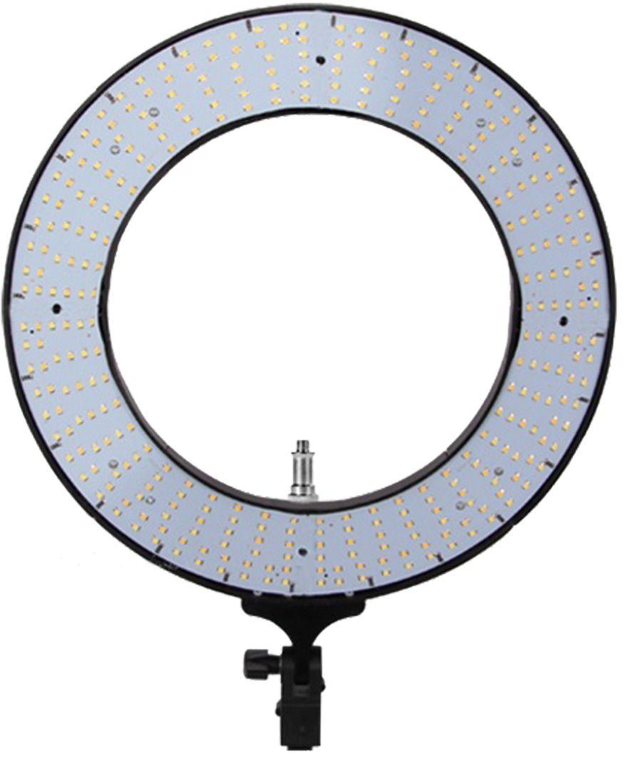 "Kit Com 2 ILUMINADORES LED RING 12 POLEGADAS (31CM) 60W BIVOLT EQUIFOTO - RING 12"" + TRIPÉ 2M"