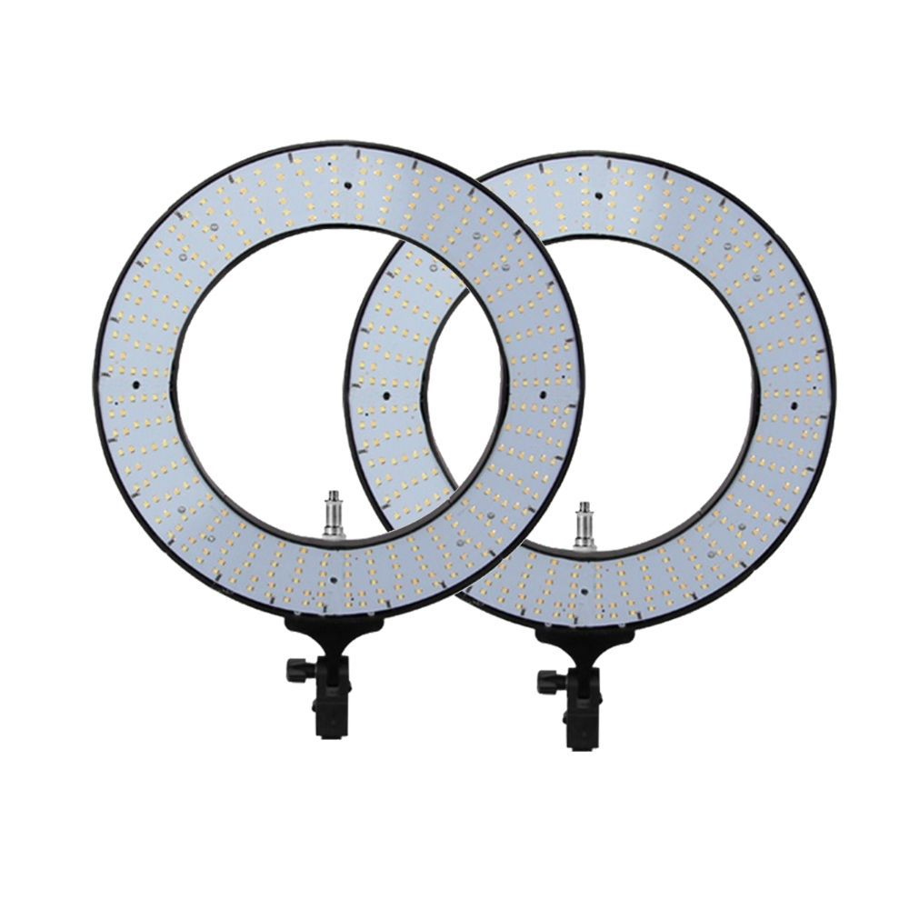 Kit Com 2 ILUMINADORES LED RING 12 POLEGADAS (31CM) 60W BIVOLT EQUIFOTO - RING 12
