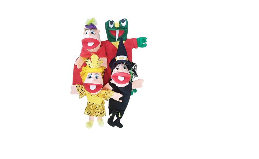 Kit Fantoche O Príncipe E O Sapo - KIT005