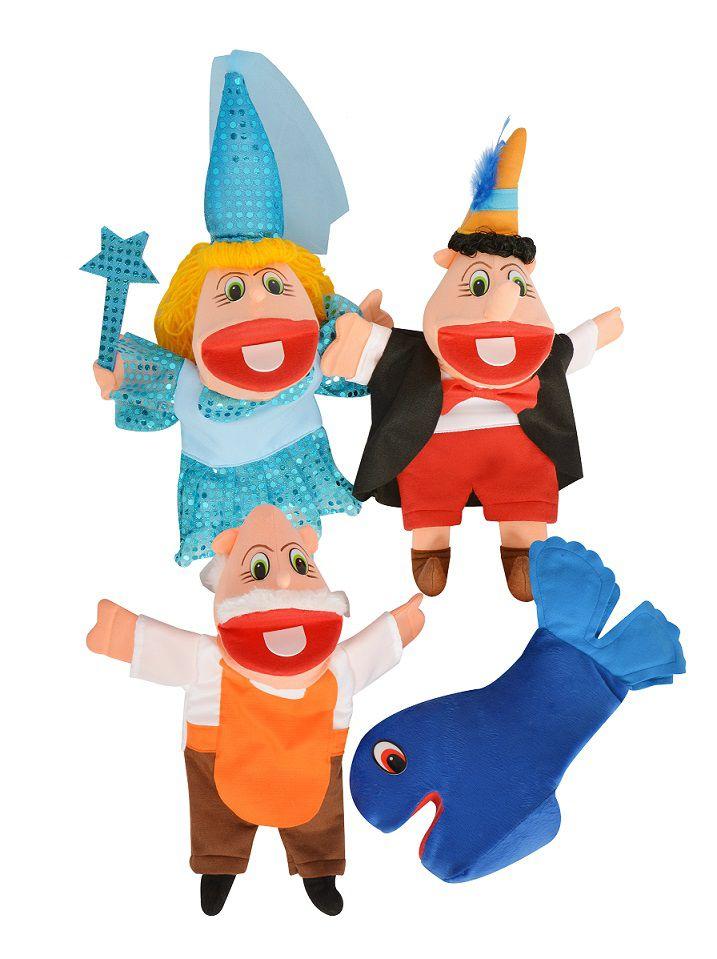 Kit Fantoches Infantil Diversos Personagens - Gonzaga