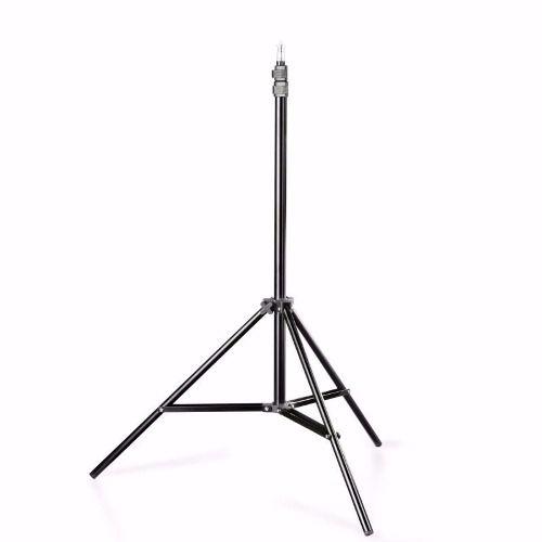 Kit Iluminação Para Estúdio E Youtuber Duplo NewBorn 2 Sombrinha Branca + 2 Soquete Simples E27 + 2 Tripé 2M ST803