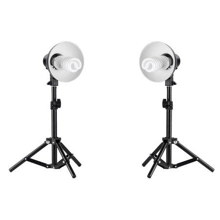 Kit Iluminação Para Mini Estudio Fotografia De Produtos Still - PKL45 220v