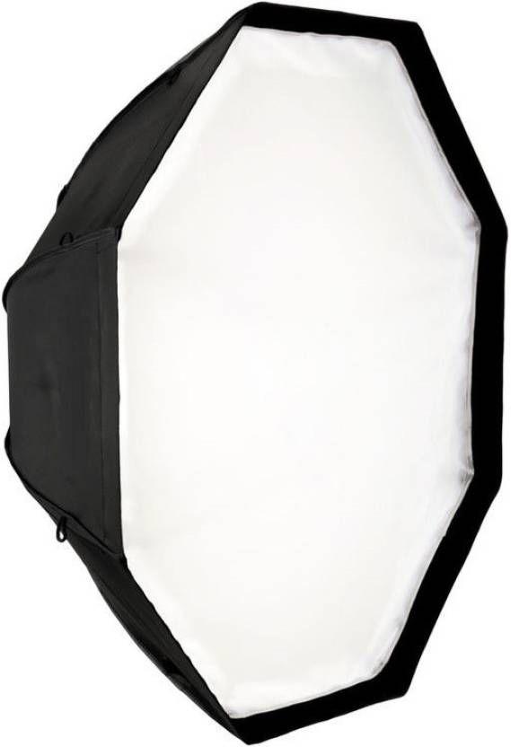 Kit Octabox 120cm + Soquete Duplo E27 Com Suporte Flash