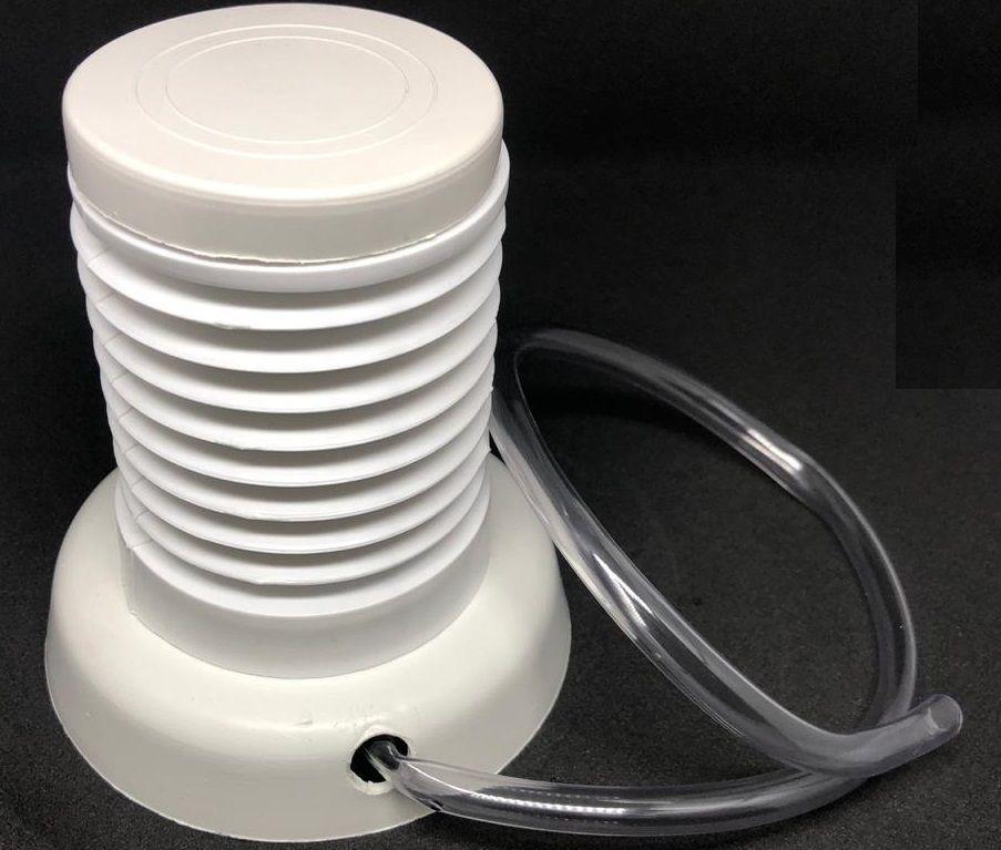 Kit 2 Bombinha Tira Ar Para Confeitar Em Plástico