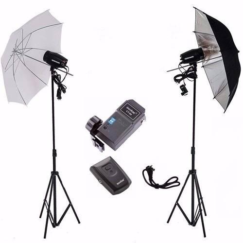 Kit Estudio Fotografico 300w Profissional Greika - Argos 220v