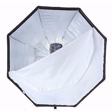 Kit Para Estúdio Fotográfico Softbox Octabox 120cm + Tripé 2 Metros