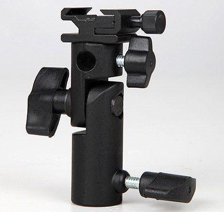 Kit Sobrinha Preta E Prata + Adaptador Para Flash - 84x59CM+YA421