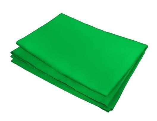 Kit Suporte Fundo Infinito YS300 + Tecido Musilin Verde Para Estúdio Fotográfico