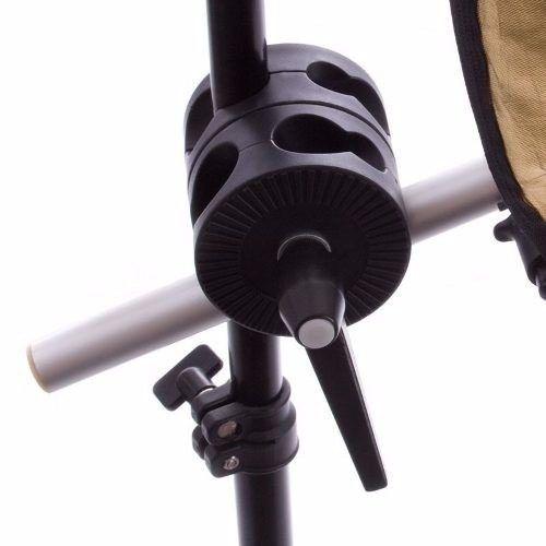 Kit Suporte Para Rebatedor Fotográfico + Tripé De Iluminação 2 Metros St-803
