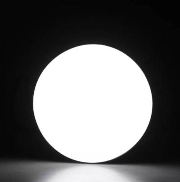 Lâmpada De Led Bivolt Para Estúdio Fotográfico 105w 5500k