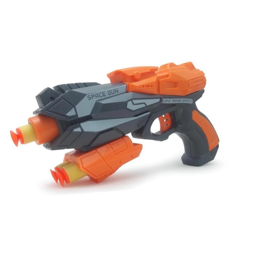 Lança Dardos De Brinquedo 5 Projéteis De Espuma - ZP00644