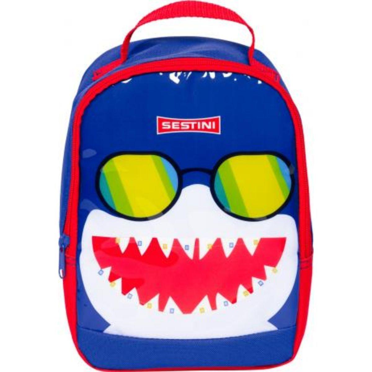 Lancheira Infantil Escolar Basic Tubarão Sestini - 065608-00