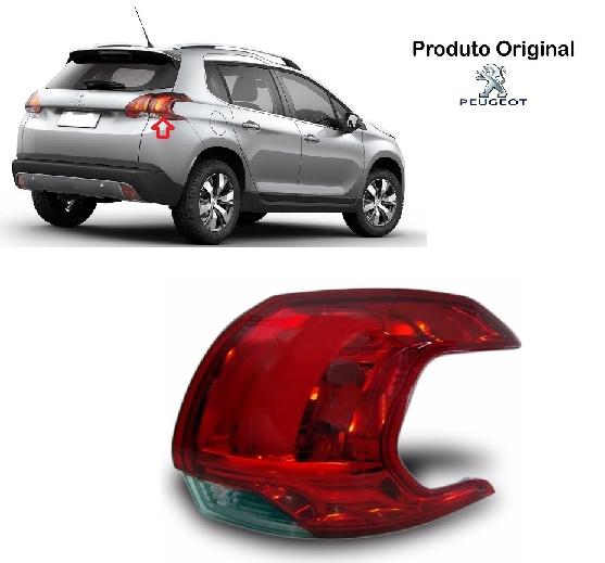 Lanterna Traseira Peugeot 2008 Led Canto 2014 A 2016 Original Valeo