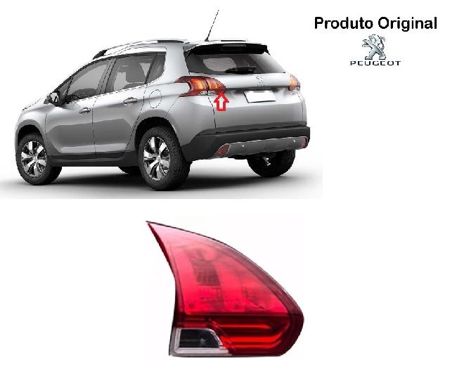 Lanterna Traseira Peugeot 2008 Led Porta Mala 2014 A 2016 Original Valeo