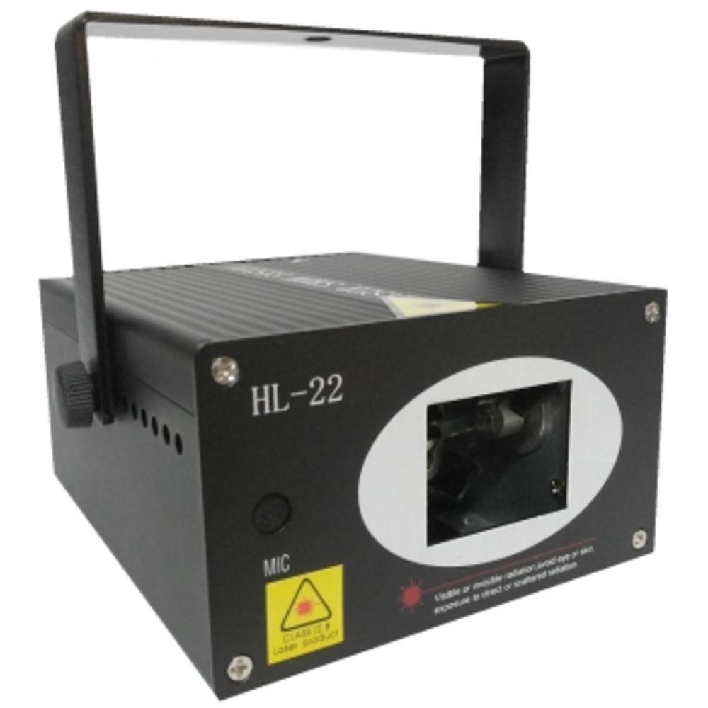 Laser Canhão Holográfico Led Projetor Iluminação Profissional - HL-22