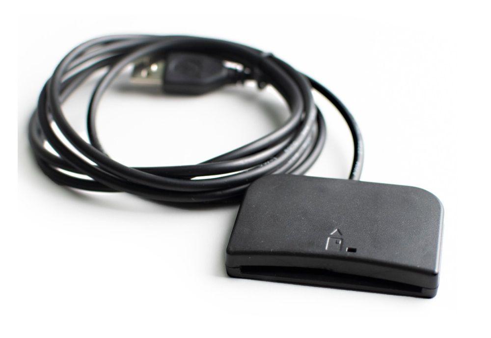 Leitora E-Smart Smartcard Cartão Certificado Digital Dexon Usb