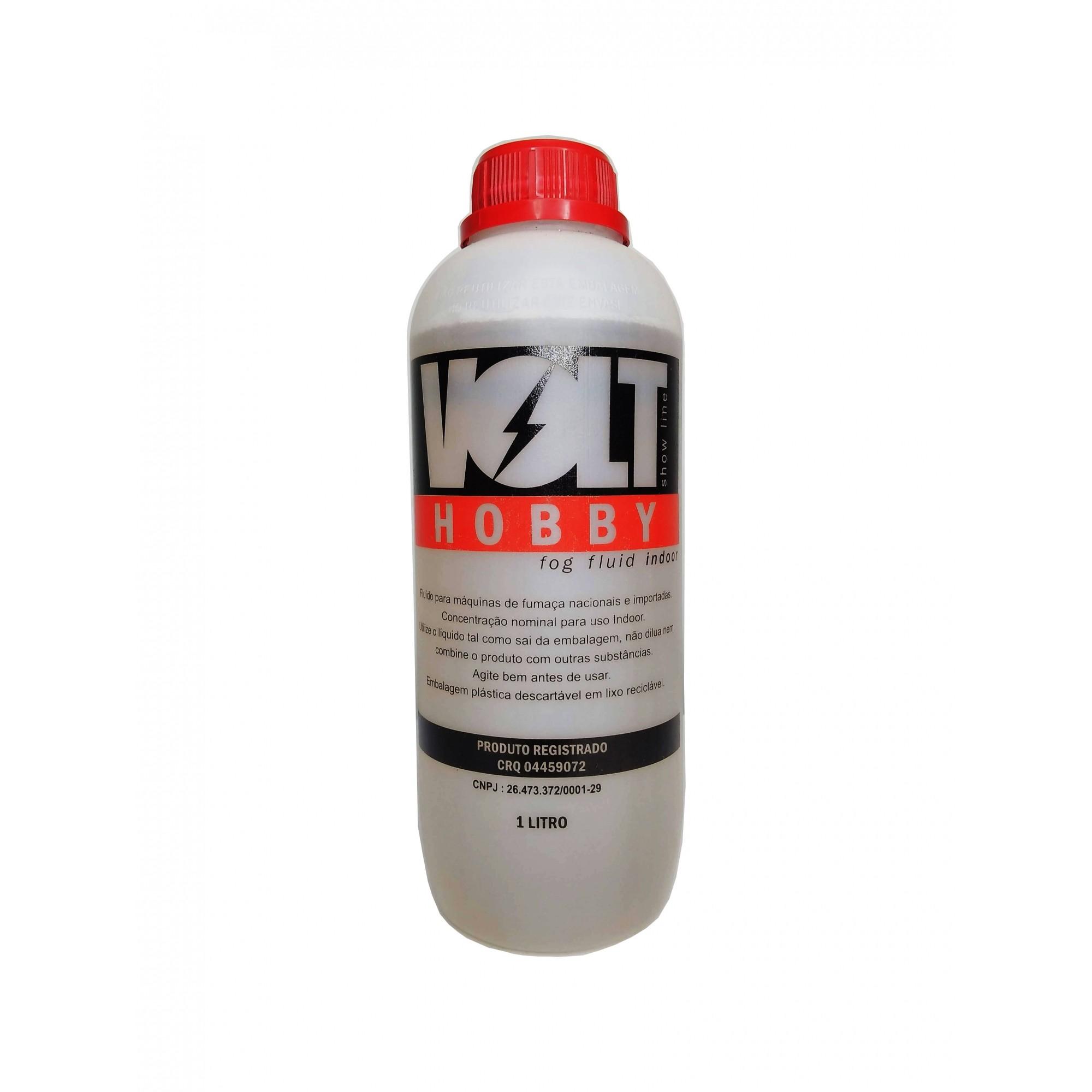 Líquido Fluído 1 Litro Para Maquina Fumaça Hobby Volt  - MY1010