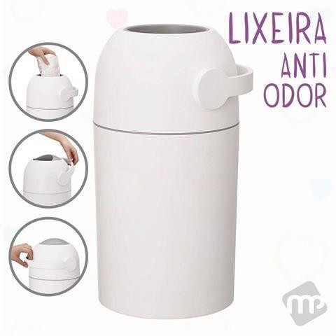 Lixo Mágico Lixeira  Anti Odor Smart Trash Para Fraldas KABABY - 11200B