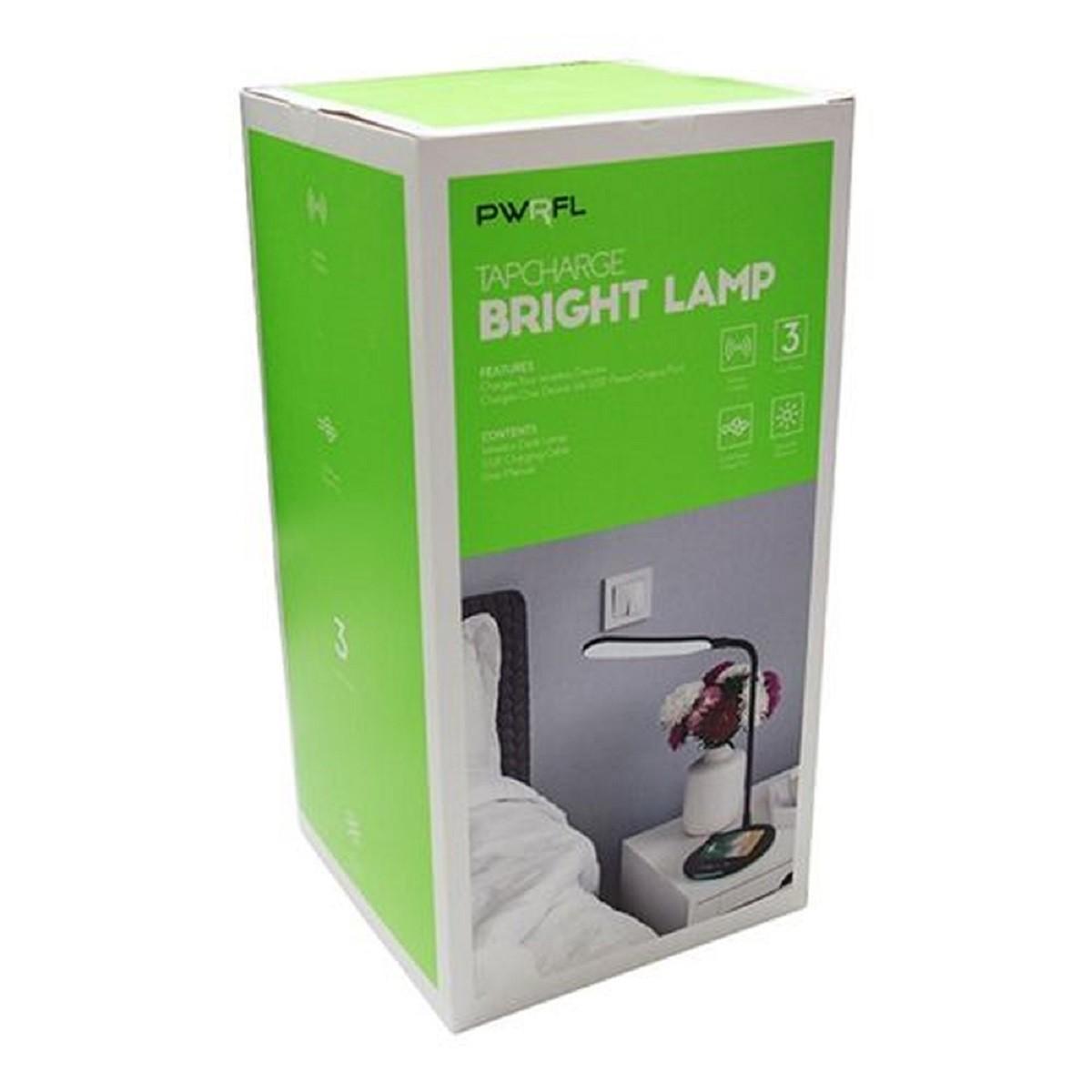 Luminaria Led Articulada Com Base Para Carga de Smartphone - Vivitar PWRFL20054W Branca