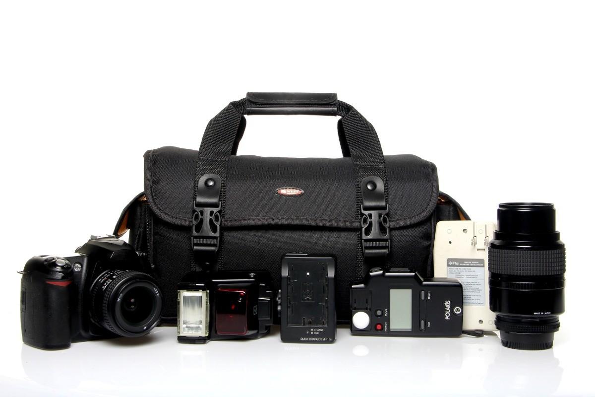 Malinha Para Câmera Profissional Dslr - Indic III