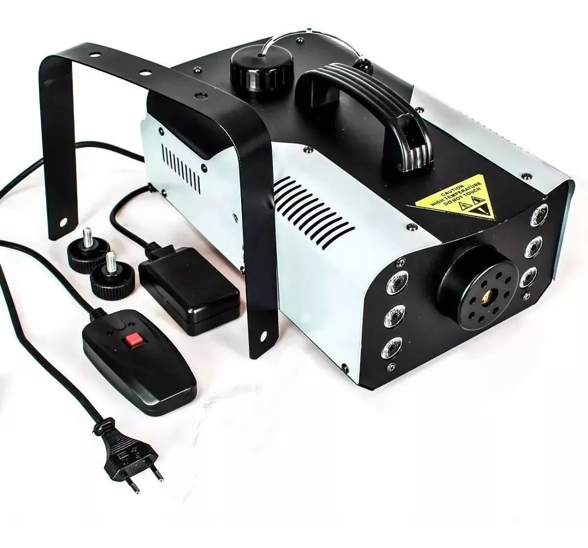 Máquina de Fumaça 1200W Efeito Led 6 RGB Controle Remoto - XH-1200W